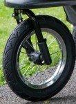 Pet stroller air filled tires