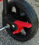 Pet Stroller safety brake
