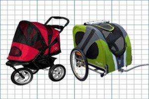 Pet Stroller / Dog Bike Trailer Comparison Charts
