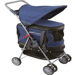 small dog stroller and pet carrier