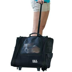 Pet Gear I-GO2 Traveler Rolling Backpack Carrier