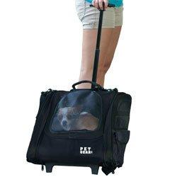 Pet Gear I-GO2 Traveler Rolling Backpack Carrier