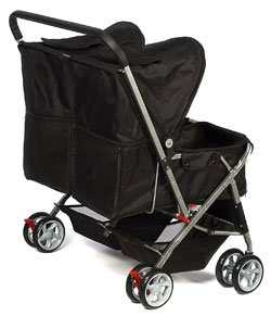 double cat stroller