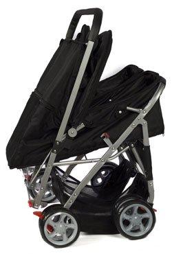 twin dog stroller