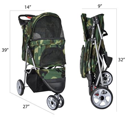 Pet Stroller Dimensions