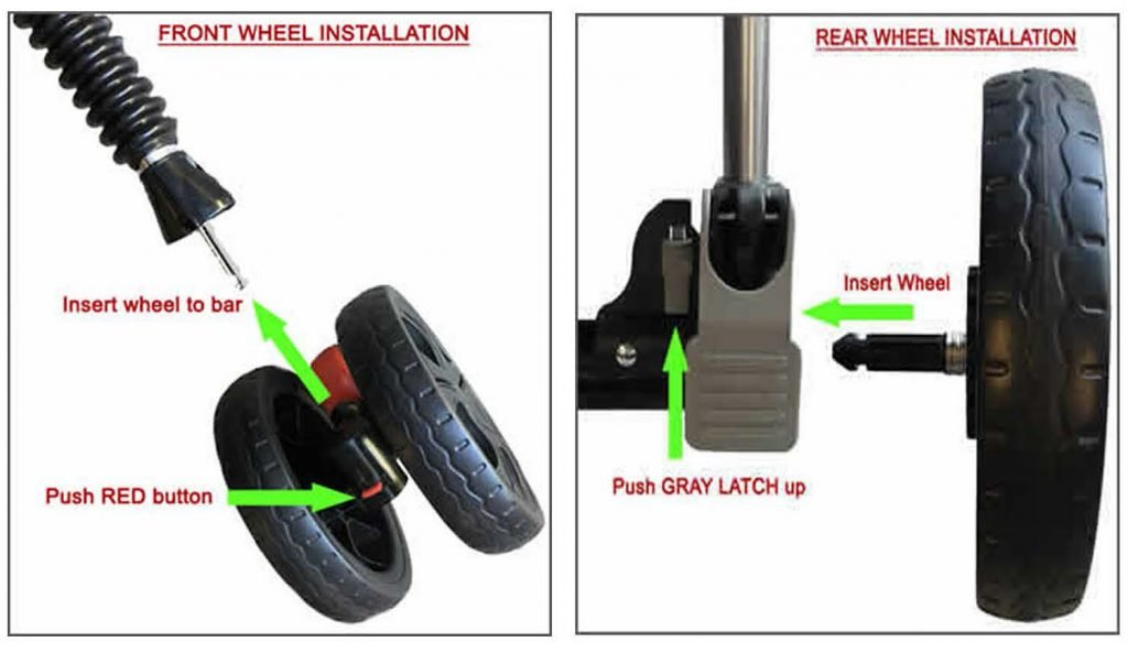 HPZ Pet Rover Wheel Installation