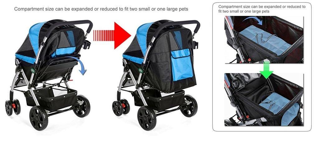 Heavy Duty Pet Stroller